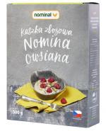 NOMINAL Kaszka owsiana - 300 g Data ważności: 2018.02.10 - Apteka internetowa Melissa
