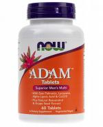 NOW FOODS ADAM - 60 tabl. - Apteka internetowa Melissa