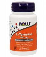 NOW FOODS L-Tyrosine 500 mg - 60 kaps. - Apteka internetowa Melissa