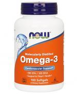 NOW FOODS Omega-3 - 100 kaps. - Apteka internetowa Melissa