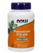 NOW FOODS Potassium citrate 99 mg - 180 kaps. - Apteka internetowa Melissa