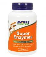 NOW FOODS Super enzymes - 90 kaps. - Apteka internetowa Melissa