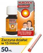 NUROFEN FORTE Syrop dla dzieci truskawkowy 40 mg/ml - 50 ml - Apteka internetowa Melissa