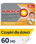 NUROFEN Dla Dzieci 60 mg - 10 czop.