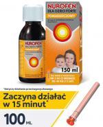 NUROFEN DLA DZIECI FORTE Zawiesina doustna o smaku pomarańczowym - 150 ml - Apteka internetowa Melissa