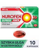 NUROFEN EXPRESS FORTE - 10 kaps.