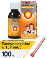 NUROFEN FORTE Syrop dla dzieci pomarańczowy 40 mg/ml - 100 ml - Apteka internetowa Melissa