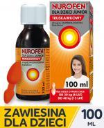 NUROFEN JUNIOR Zawiesina doustna smak truskawkowy - 100 ml