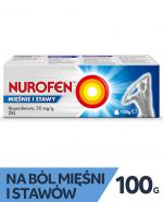 NUROFEN MIĘŚNIE I STAWY Żel - 100 g - Apteka internetowa Melissa