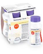 NUTRICOMP DRINK PLUS O Smaku waniliowym - 4 x 200 ml - Apteka internetowa Melissa