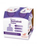 NUTRIDRINK PROTEIN Brzoskwinia-mango - 4 x 125 ml. Dla pacjentów onkologicznych.
