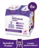 NUTRIDRINK PROTEIN O smaku owoców leśnych - 24x125 ml - Apteka internetowa Melissa