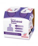 NUTRIDRINK PROTEIN Rześki smak czerwonych owoców - 4 x 125 ml
