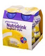 NUTRIDRINK YOGHURT STYLE O smaku waniliowo cytrynowym - 4 x 200 ml - Apteka internetowa Melissa