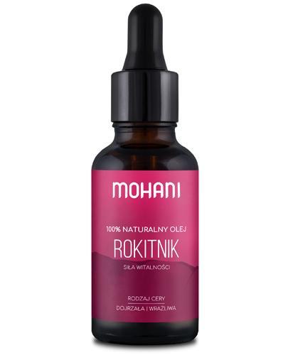 Mohani 100% Naturalny olej rokitnikowy - 30 ml - cena, opinie, właściwości - Drogeria Melissa