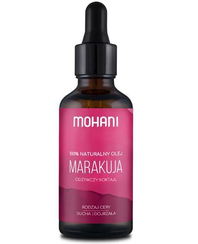Mohani 100% Naturalny olej z marakui - 50 ml - cena, opinie, stosowanie - Drogeria Melissa