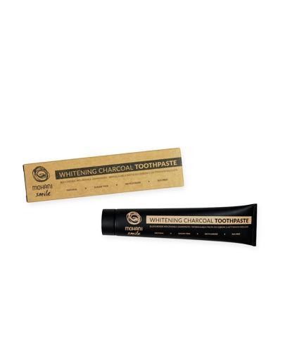 Mohani Smile Pasta do zębów wybielająca z aktywnym węglem - 75 ml - cena, właściwości  - Drogeria Melissa