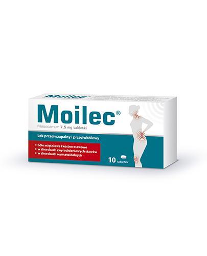 MOILEC 7,5 mg - 10 tabl. - Apteka internetowa Melissa