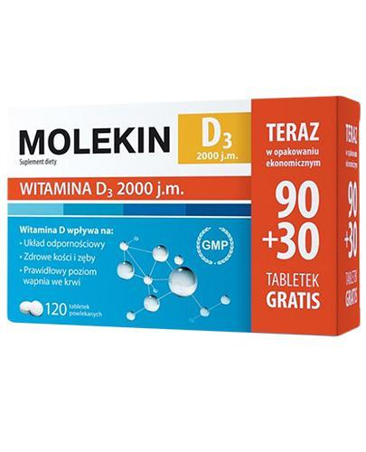 MOLEKIN D3 2000 - 120 tabl.