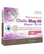 OLIMP CHELA MAG B6 Magnez + Witamina B6 - 30 kaps. - Apteka internetowa Melissa
