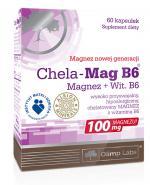 OLIMP CHELA MAG B6 Magnez + Witamina B6 - 60 kaps. - Apteka internetowa Melissa
