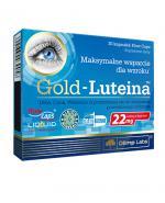 OLIMP GOLD-LUTEINA Maksymalne wsparcie dla wzroku - 30 kaps.  - Apteka internetowa Melissa