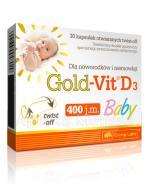 OLIMP GOLD-VIT D3 BABY - 60 kaps. Data ważności: 2017.10.30 - Apteka internetowa Melissa