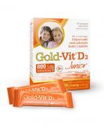 OLIMP GOLD-VIT D3 JUNIOR Smak malinowy - 30 sasz. - Apteka internetowa Melissa