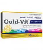 OLIMP GOLD-VIT DLA MĘŻCZYZN - 30 tabl. - Apteka internetowa Melissa
