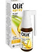 OLIT Spray do jamy ustnej i gardła - 20 ml - Apteka internetowa Melissa