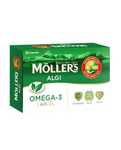 Mollers Algi - 30 kaps. Na odporność - cena, opinie, stosowanie  - Apteka internetowa Melissa