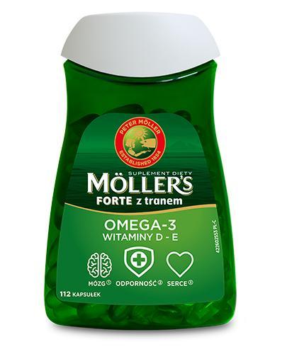 MOLLERS FORTE OMEGA-3 - 112 kaps. - Apteka internetowa Melissa