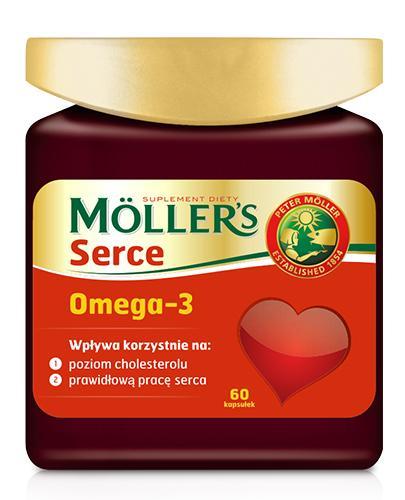 MOLLERS SERCE - 60 kaps. - Drogeria Melissa