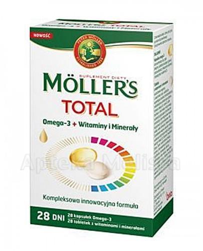 MOLLERS TOTAL 28 kaps. + 28 tabl. - Apteka internetowa Melissa