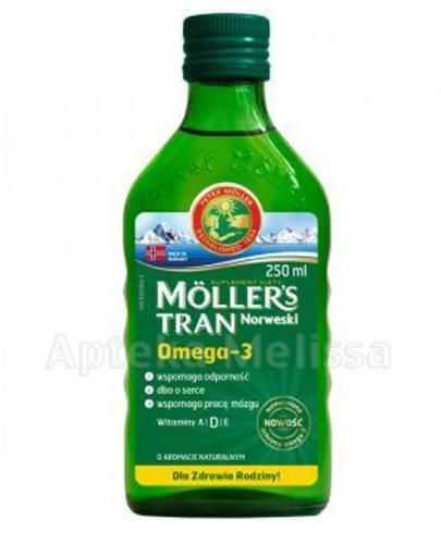 MOLLERS Tran naturalny - 250 ml - Apteka internetowa Melissa