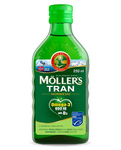 MOLLERS Tran norweski o aromacie jabłkowym - 250 ml - cena, opinie, właściwości