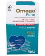 OMEGA FORTE 65% Omega-3 - 60 kaps. Data ważności 2021.09.30