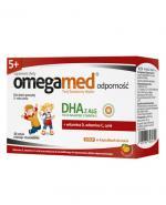 OMEGAMED ODPORNOŚĆ Dla dzieci powyżej 5 roku życia smak pomarańczowy - 30 kaps. - cena, opinie, dawkowanie