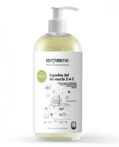 MOMME Łagodny żel do mycia 2w1 - 500 ml - Apteka internetowa Melissa