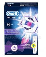 ORAL-B Akumulatorowa szczoteczka elektryczna PRO750 3D White - 1 szt. - Apteka internetowa Melissa