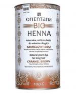 ORIENTANA BIO HENNA Karmelowy brąz - 100 g - Apteka internetowa Melissa