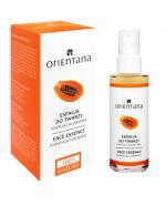 ORIENTANA BIO MASKA-ESENCJA Papaja i kurkuma - 50 ml - Apteka internetowa Melissa