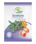 OWOCE OGRODÓW Szałwia z witaminą C, Ziołowe cukierki - 60 g - Apteka internetowa Melissa