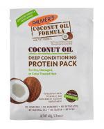 PALMERS Proteinowa kuracja do włosów z olejkiem kokosowym - 60 g - Apteka internetowa Melissa
