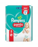 PAMPERS PANTS 5 JUNIOR Pieluchomajtki 12-18 kg - 22 szt. - Apteka internetowa Melissa