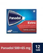 PANADOL EXTRA Lek przeciwbólowy - 12 tabl.