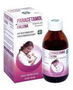 PARACETAMOL GALENA Syrop od 2 roku życia 120mg/5ml - 100 ml - Apteka internetowa Melissa