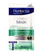 PERFECTA BEAUTY EXPRESS MASK Głębokie oczyszczanie - 2 x 5 ml - Apteka internetowa Melissa