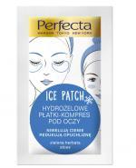 PERFECTA ICE PATCH Hydrożelowe płatki-kompres pod oczy - 2 szt. - Apteka internetowa Melissa