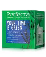 PERFECTA YOUR TIME IS GREEN Krem-maska na noc - 50 ml - Apteka internetowa Melissa